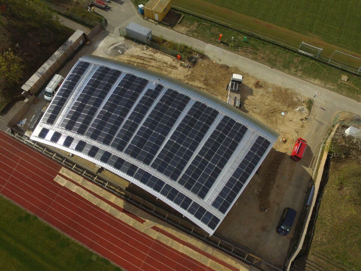 Neue Anlage auf dem Albgaustadion in Ettlingen